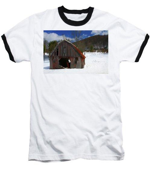 A Little Rust Baseball T-Shirt by Dale R Carlson