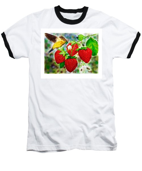 A Midsummer Daydream Baseball T-Shirt by Asha Aravind