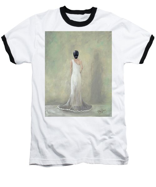 A Moment Alone Baseball T-Shirt by T Fry-Green