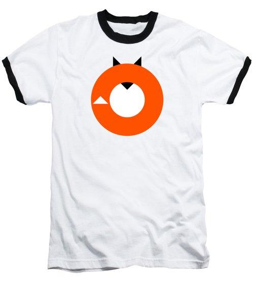 A Most Minimalist Fox Baseball T-Shirt