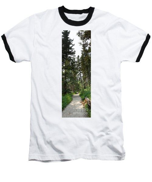 A Path Through The Trees Baseball T-Shirt