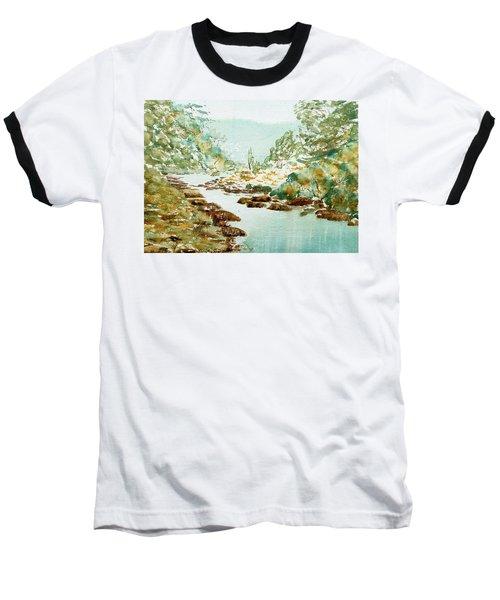 A Quiet Stream In Tasmania Baseball T-Shirt