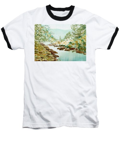 A Quiet Stream In Tasmania Baseball T-Shirt