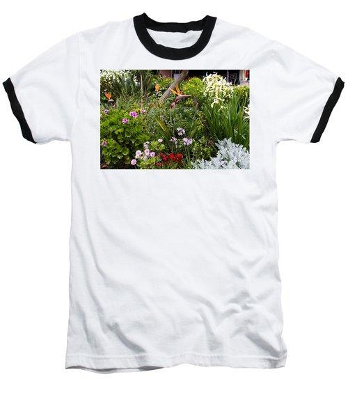 A Riot Of Flowers Baseball T-Shirt