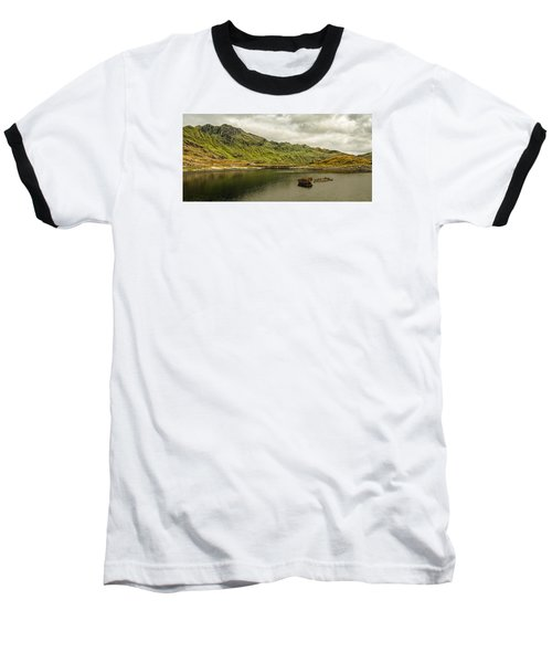 A Rock And A Hard Place Baseball T-Shirt