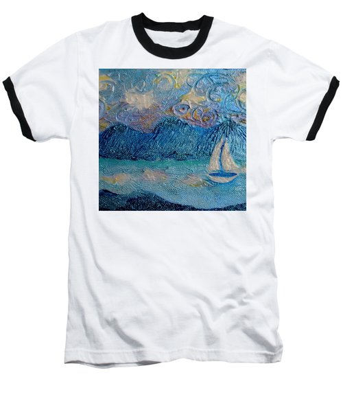 A Sailboat For The Mind #2 Baseball T-Shirt