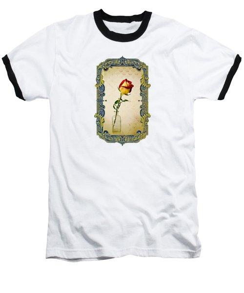 A Single Rose Baseball T-Shirt