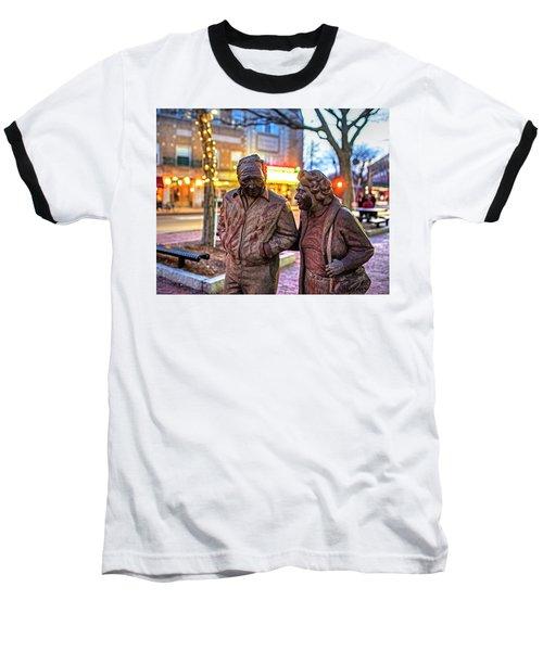 A Stroll Through Davis Square Somerville Ma Baseball T-Shirt