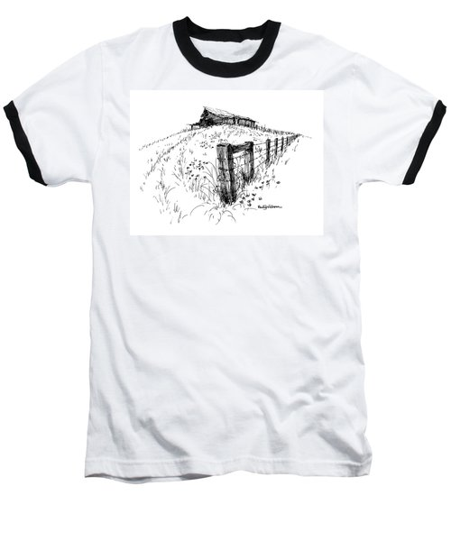 A Strong Fence And Weak Barn Baseball T-Shirt