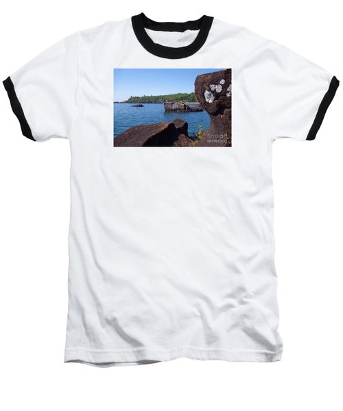 Baseball T-Shirt featuring the photograph A Superior View by Sandra Updyke