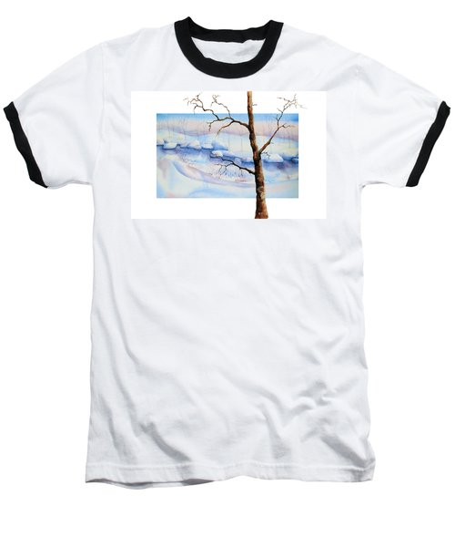 A Tree In Another Dimension Baseball T-Shirt
