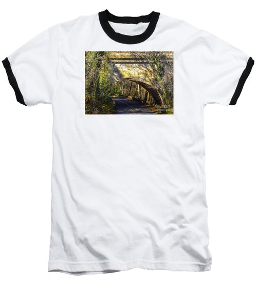 Baseball T-Shirt featuring the photograph A Tunnel By The River by Melissa Messick