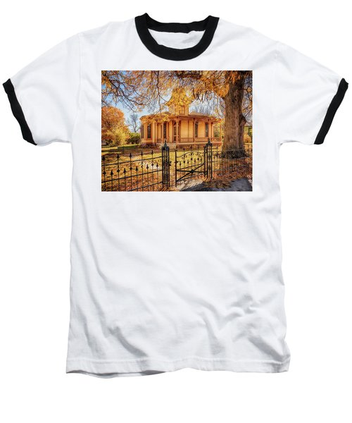 A Victorian Autumn Baseball T-Shirt