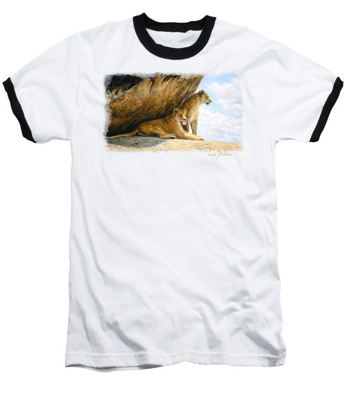 A View From The Shade Baseball T-Shirt