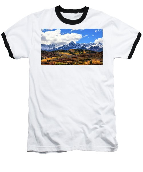 A Vision Splendor Baseball T-Shirt by Rick Furmanek