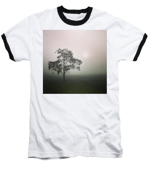 A Walk Through The Clouds #fog #nuneaton Baseball T-Shirt