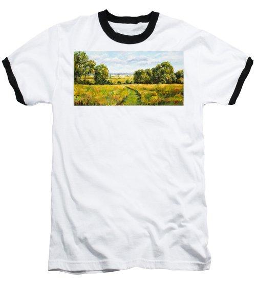 A Walk Thru The Fields Baseball T-Shirt