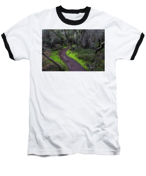 A Windy Path Baseball T-Shirt