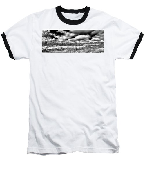 Baseball T-Shirt featuring the photograph A Winter Panorama by David Patterson