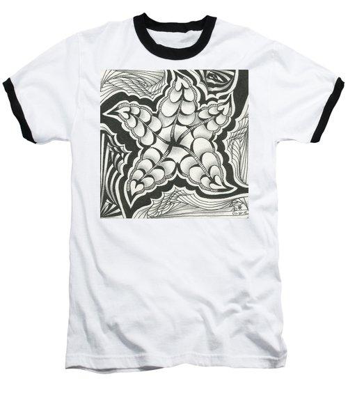 A Woman's Heart Baseball T-Shirt by Jan Steinle