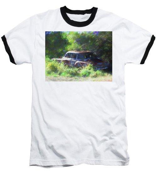 Abandoned 1950 Chevy Dop Baseball T-Shirt