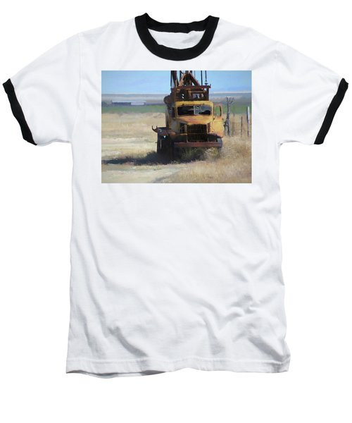Abandoned Gmc Drill Rig Baseball T-Shirt