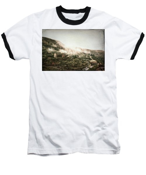 Abandoned Hotel In The Fog Baseball T-Shirt