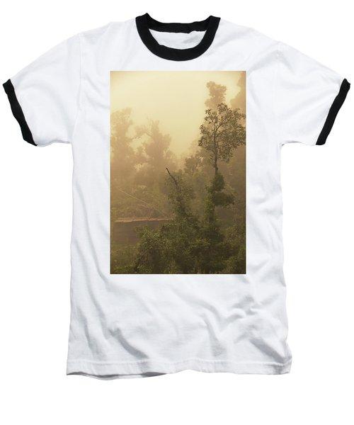 Abandoned Shed Baseball T-Shirt by Rajiv Chopra