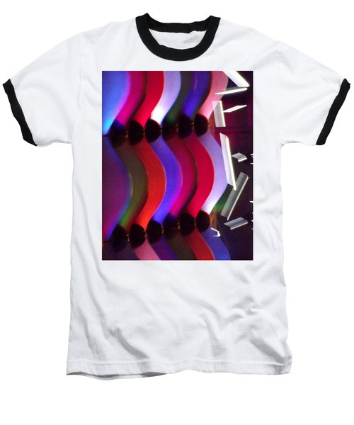 Abstract1 Baseball T-Shirt by John Wartman
