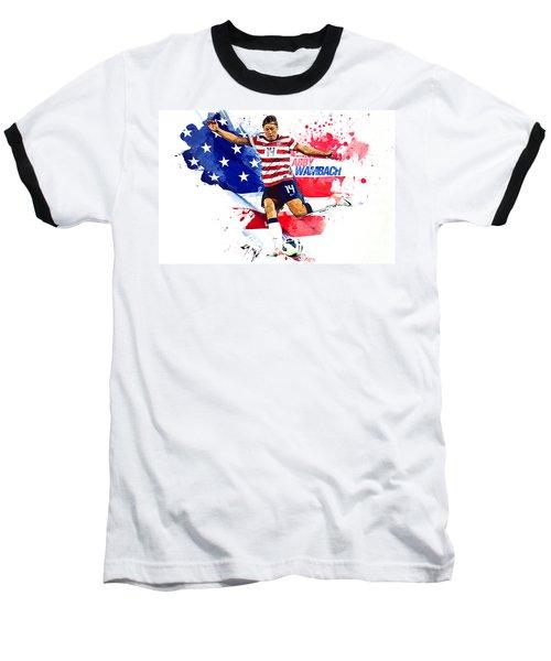 Abby Wambach Baseball T-Shirt