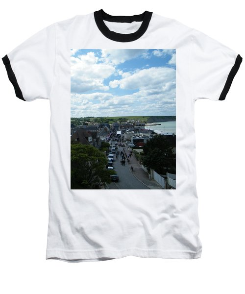 Above Arromanches-les-bains Baseball T-Shirt