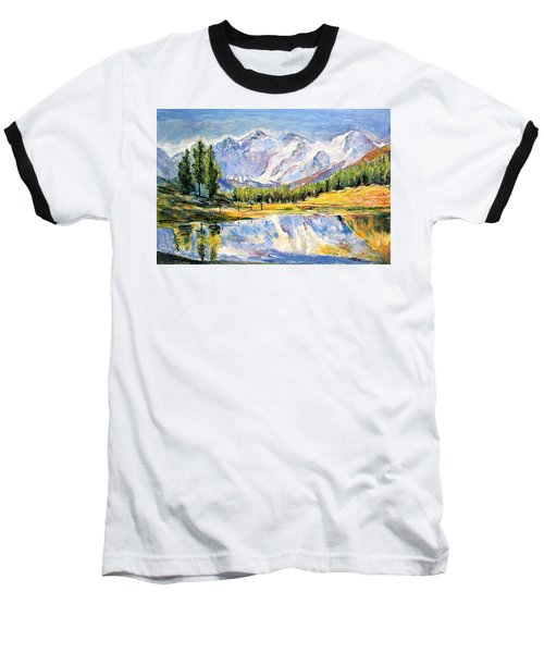Above The Sea Level Baseball T-Shirt
