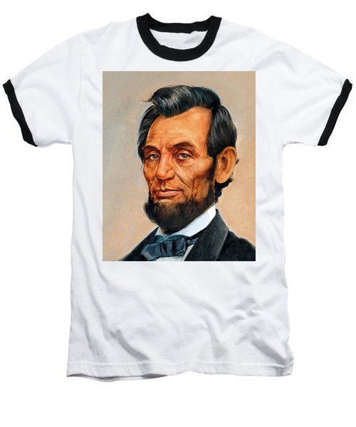 Abraham Lincoln 7 Baseball T-Shirt