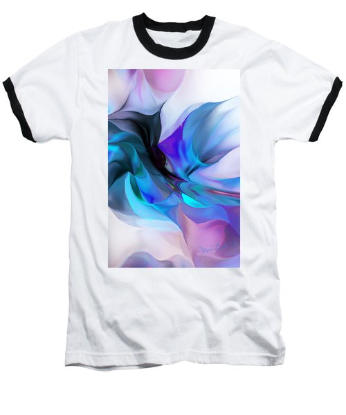 Abstract 012513 Baseball T-Shirt by David Lane