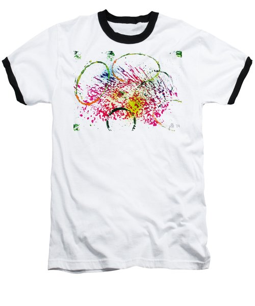 Abstract #2 Baseball T-Shirt