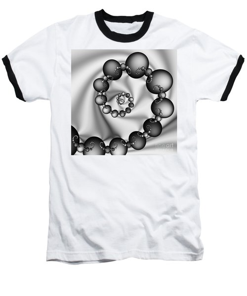 Abstract 537 Bw Baseball T-Shirt