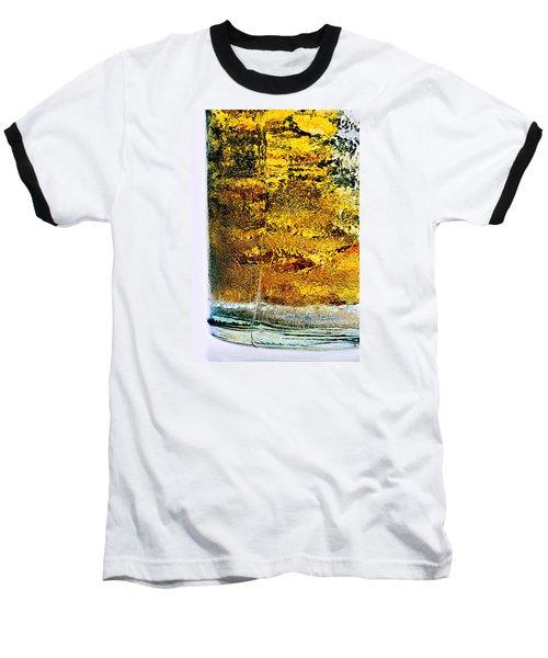 Abstract #8442 Baseball T-Shirt by Andrey Godyaykin