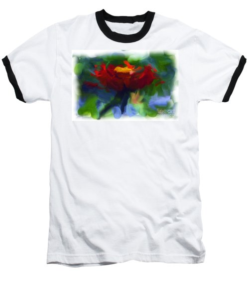 Abstract Flower Expressions 2 Baseball T-Shirt