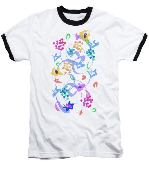 Abstract Garden Nr 6 Baseball T-Shirt