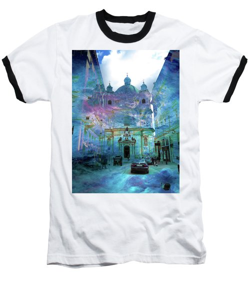 Abstract  Images Of Urban Landscape Series #9 Baseball T-Shirt
