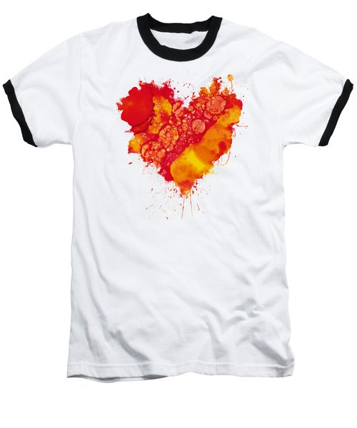 Abstract Intensity Baseball T-Shirt by Nikki Marie Smith