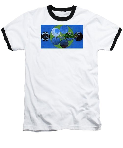 Abstract Painting - Everglade Baseball T-Shirt