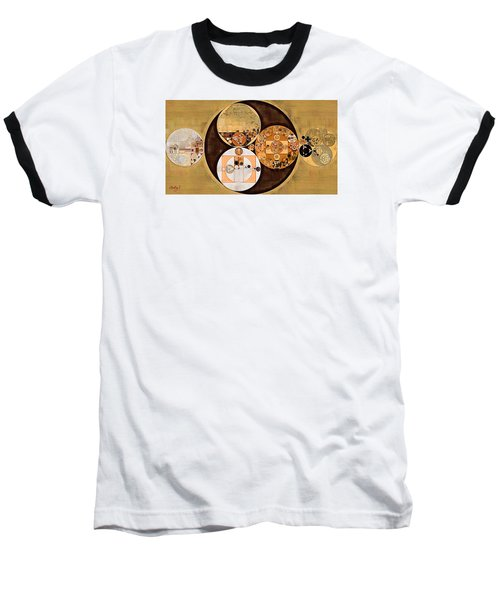 Abstract Painting - New Tan Baseball T-Shirt