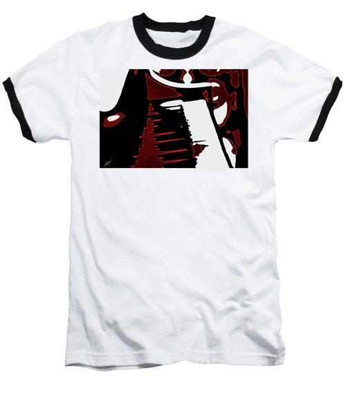 Abstract Piano Baseball T-Shirt