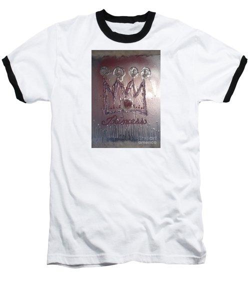 Abstract Princess Dreams Of Grandeur Baseball T-Shirt by Talisa Hartley
