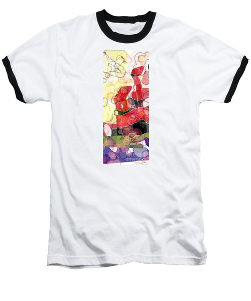 Abstract Submarine Baseball T-Shirt