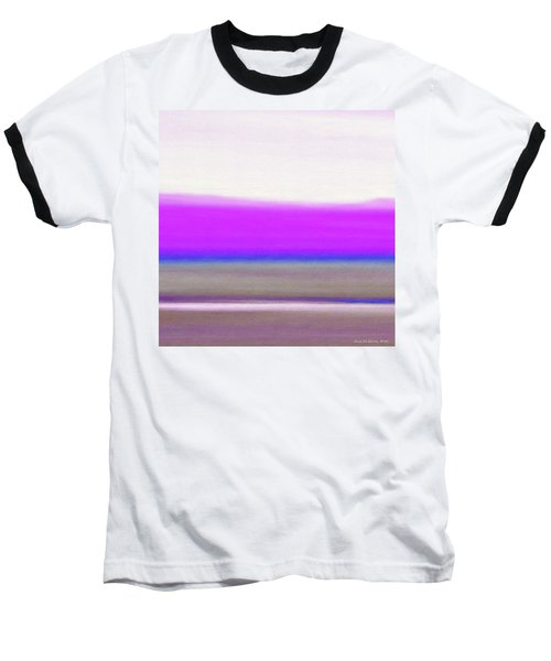 Abstract Sunset 65 Baseball T-Shirt
