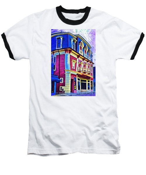 Baseball T-Shirt featuring the digital art Abstract Urban by Kirt Tisdale