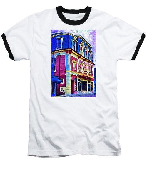 Abstract Urban Baseball T-Shirt