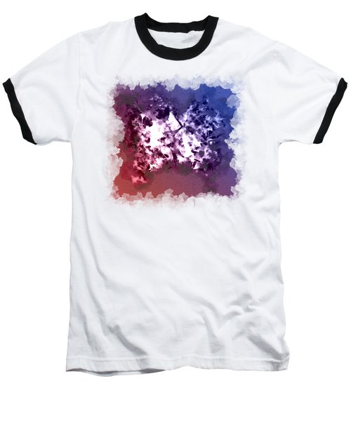 Abstraction Of The Ink Kiss  Baseball T-Shirt by Anton Kalinichev